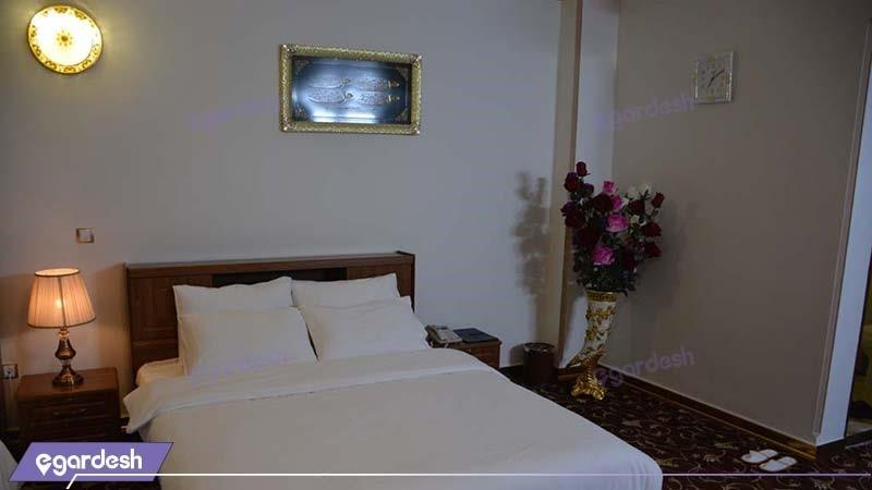 اتاق دبل هتل فردوس چابهار