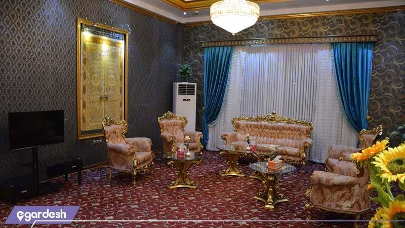 لابی هتل فردوس چابهار