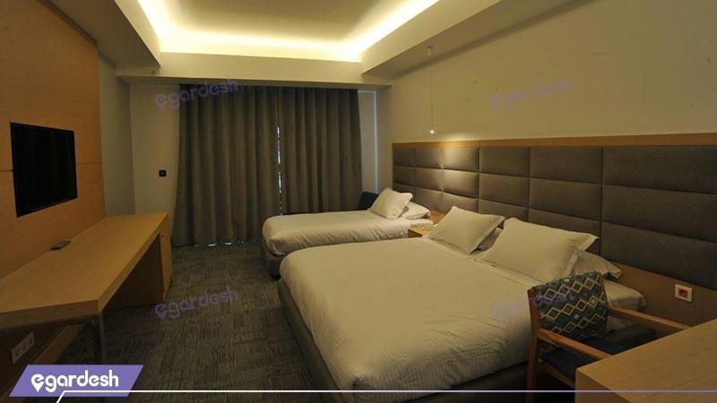 اتاق سه تخته هتل ونوس پلاس