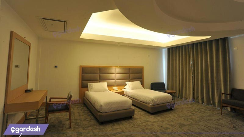 اتاق دو تخته توئین هتل ونوس پلاس