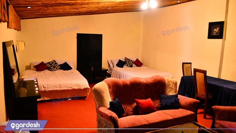 اتاق چهار نفره هتل نارین