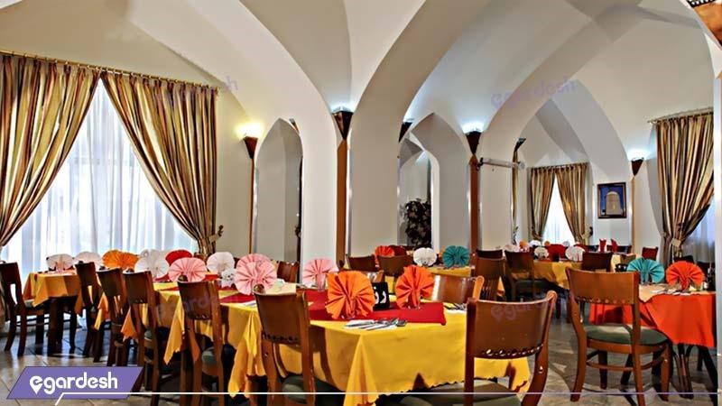 رستوران هتل جهانگردی دامغان