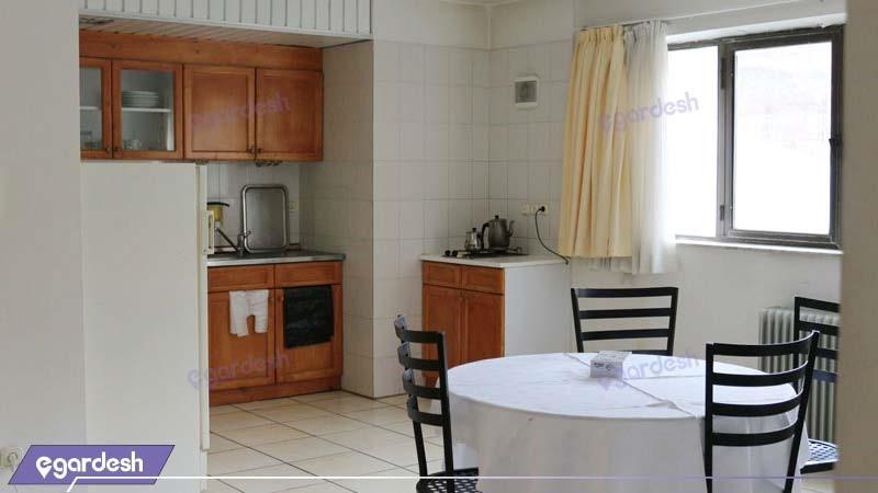 آشپزخانه سوئیت هتل گاجره