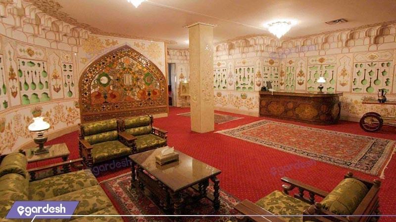 سالن صبحانه خوری هتل عباسی