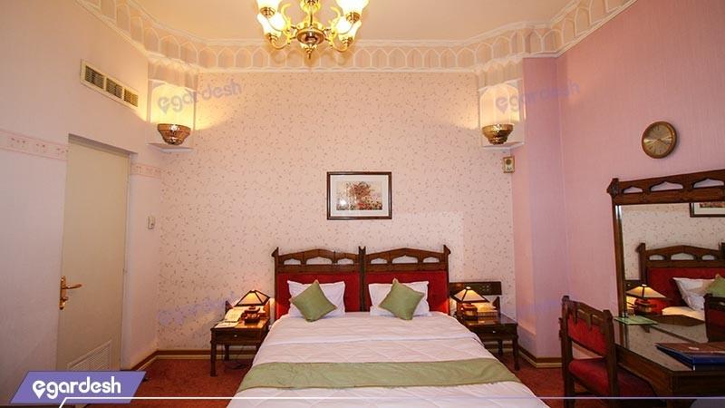 اتاق دو تخته دبل چشم انداز هتل عباسی