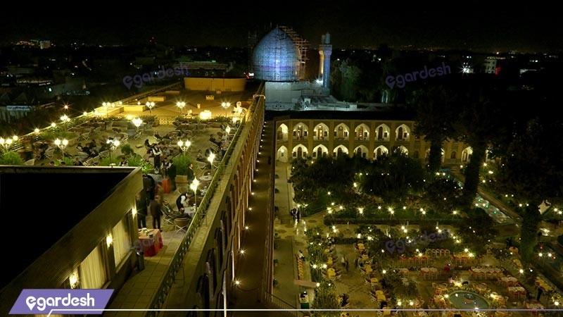 چشم انداز رستوران  هتل عباسی