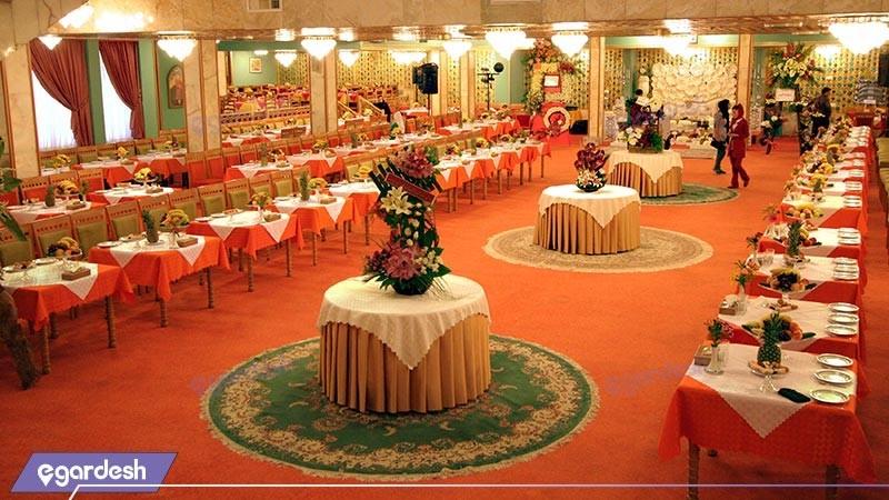 تالار فیروزه هتل عباسی