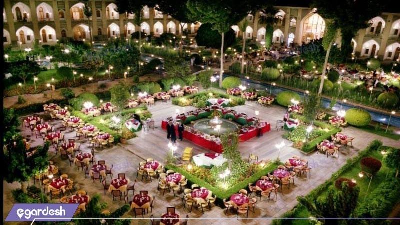 باغ رستوران هتل عباسی
