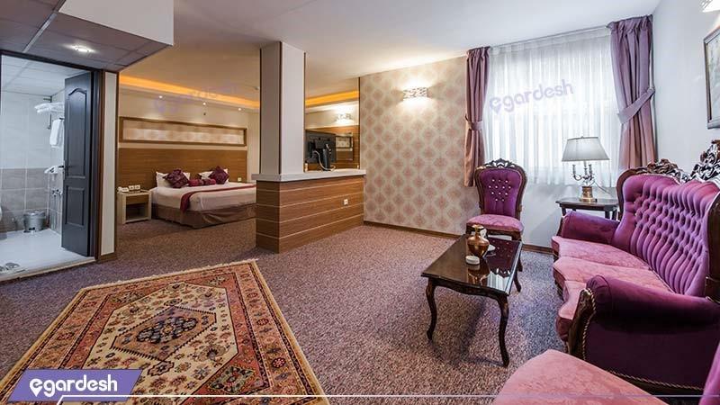 اتاق آتوسا هتل آوین