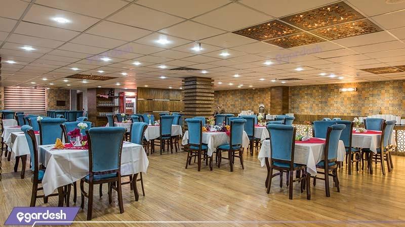 رستوران هتل آوین