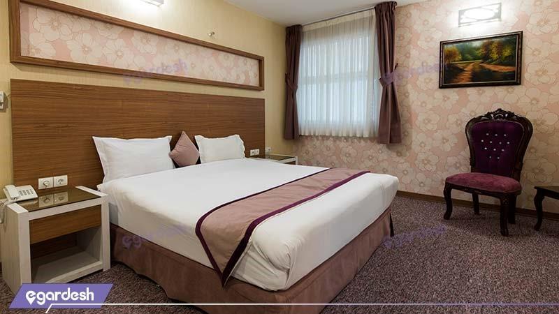 اتاق دبل نقره ای هتل آوین