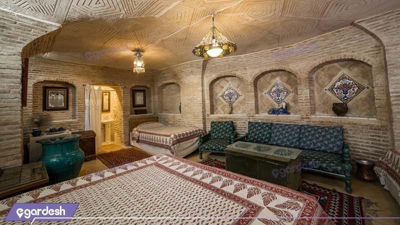 اتاق حجره هتل سنتی بخردی