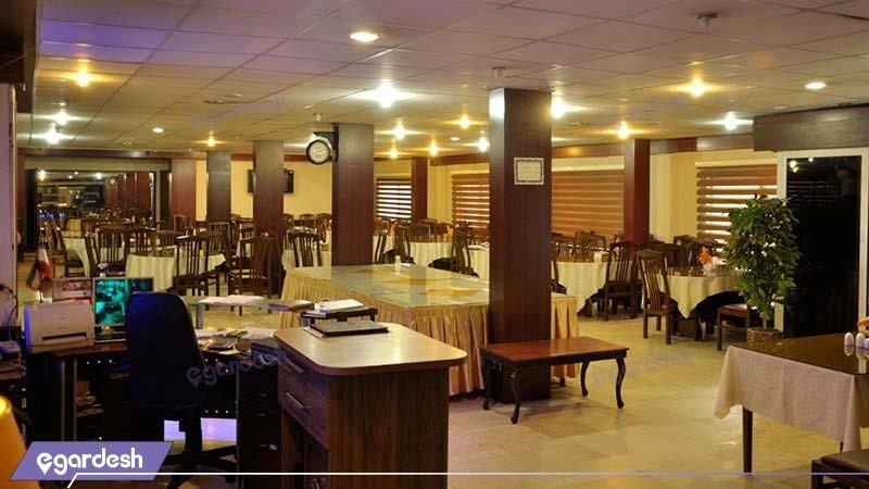 رستوران هتل اصفهان