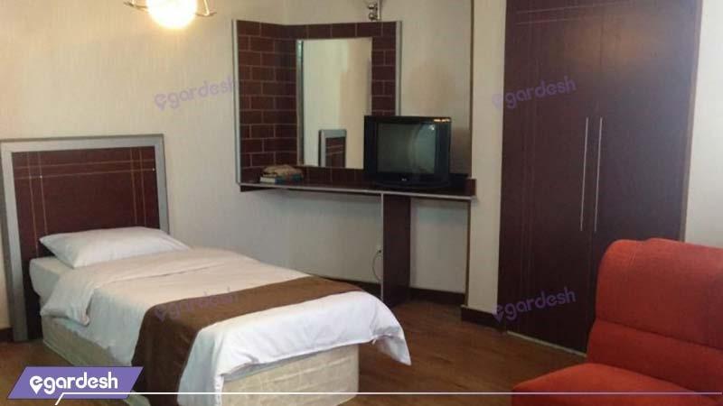 اتاق یکنفره هتل اصفهان