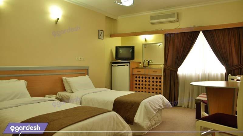 اتاق دو نفره هتل اصفهان