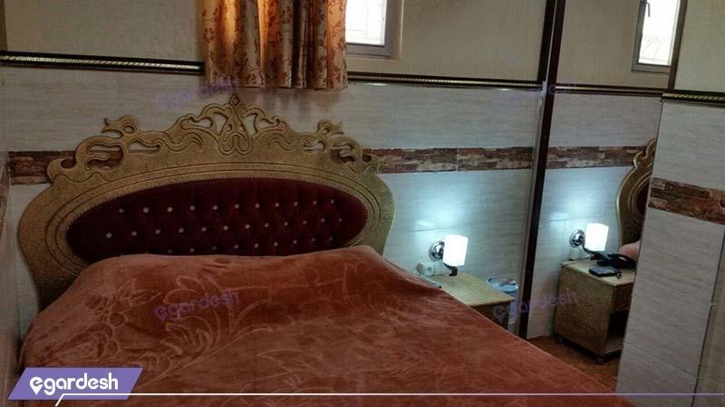 اتاق چهار نفره هتل آپارتمان هخامنشیان پارتاک