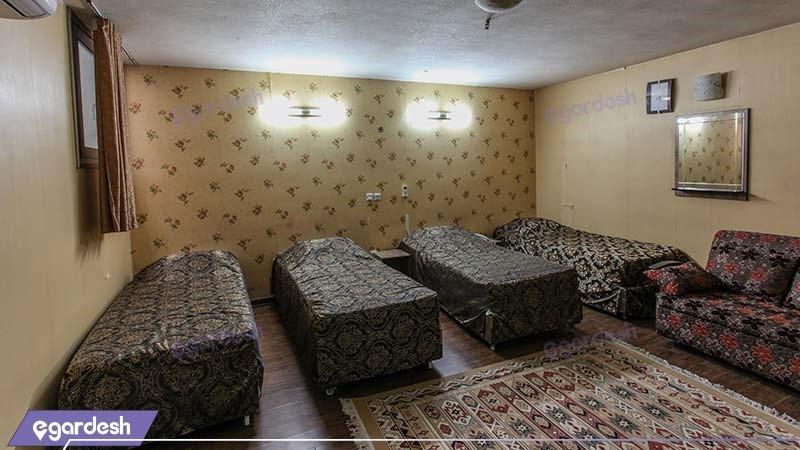 اتاق چهار نفره هتل جمشید