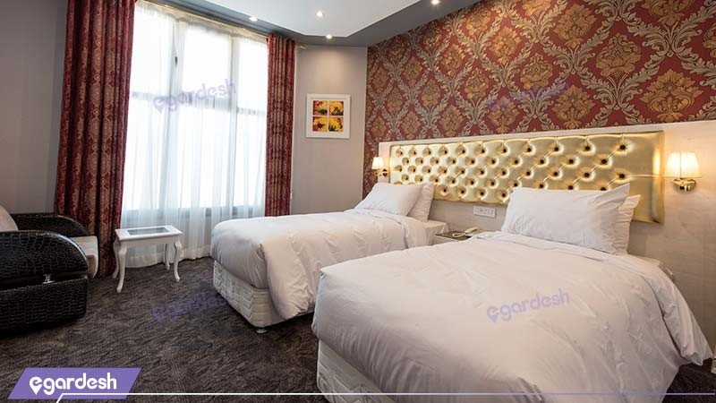 اتاق دو تخته هتل خواجو