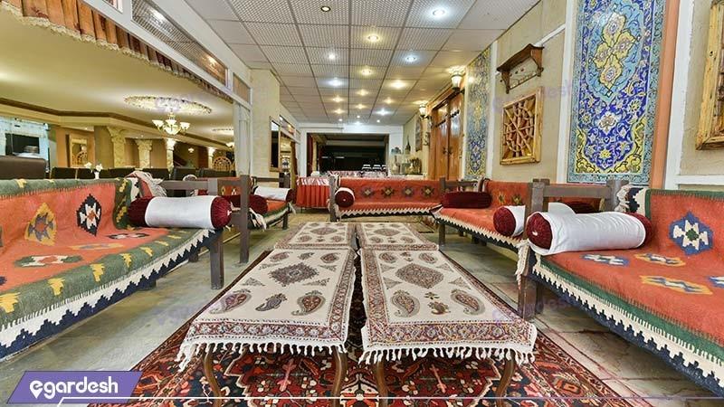 چایخانه سنتی هتل ملک