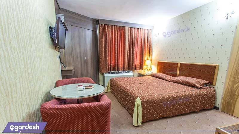 اتاق دبل هتل پارسیان سوئیت