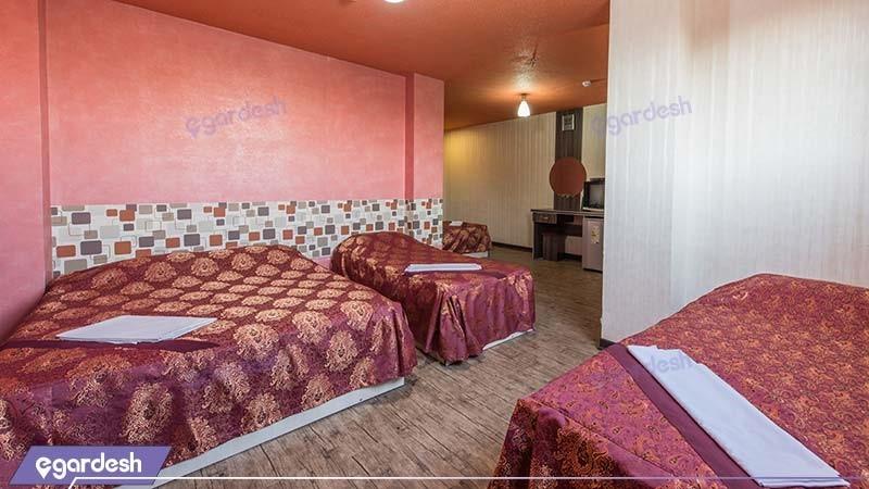 اتاق چهار نفره هتل صبا