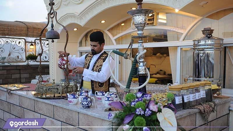 رستوران بام هتل ستاره