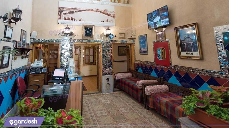 لابی هتل سنتی طلوع خورشید
