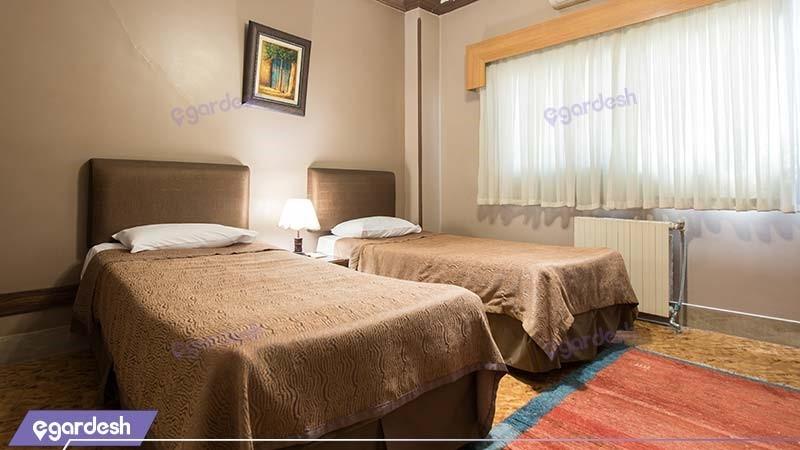 اتاق دو نفره هتل توریست
