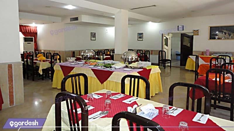 رستوران مهمانسرای جهانگردی فیروزآباد