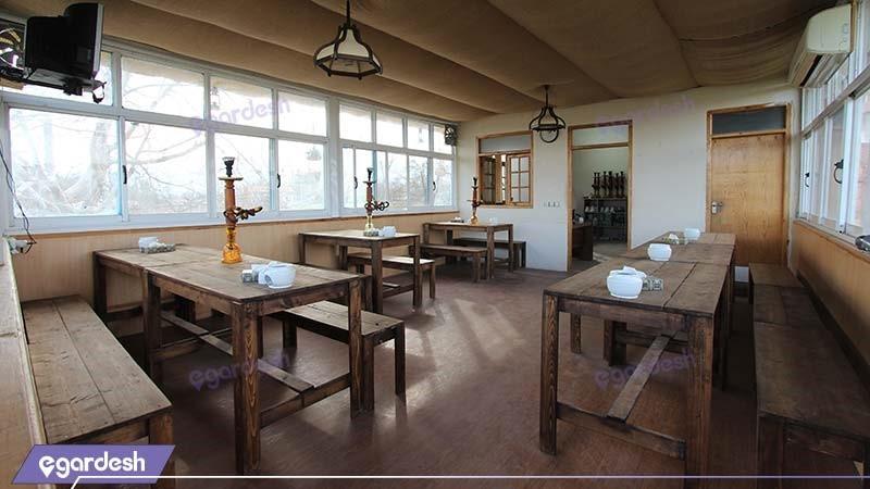 چایخانه سنتی هتل مزرعه معین