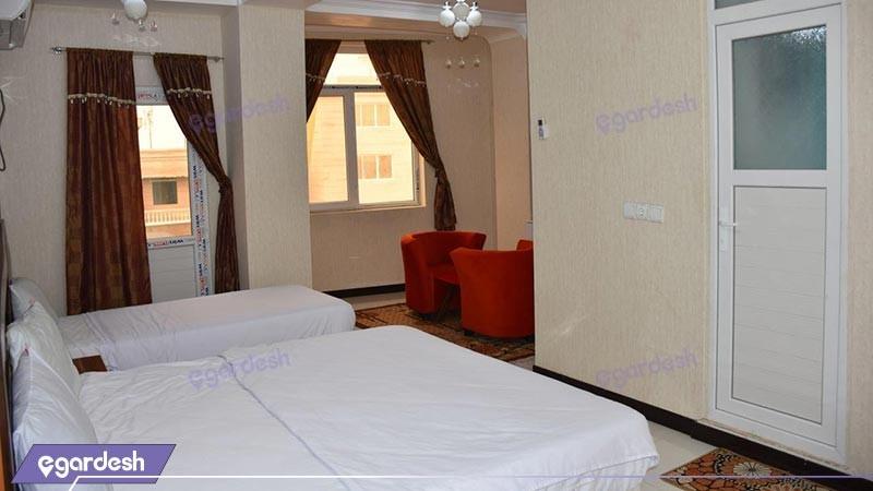 اتاق چهار تخته هتل رویال