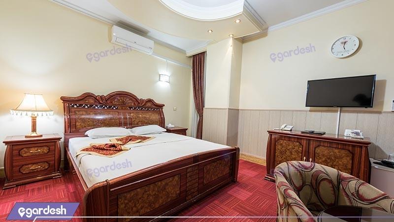 اتاق دو تخته دبل  هتل خورشید