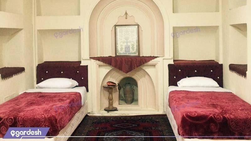 اتاق چهار نفره هتل ارگ گوگد