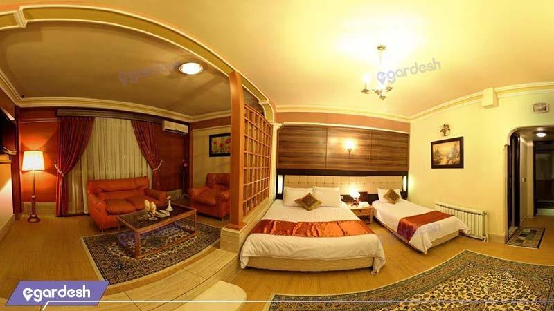 سوئیت دوبلکس هتل آذین