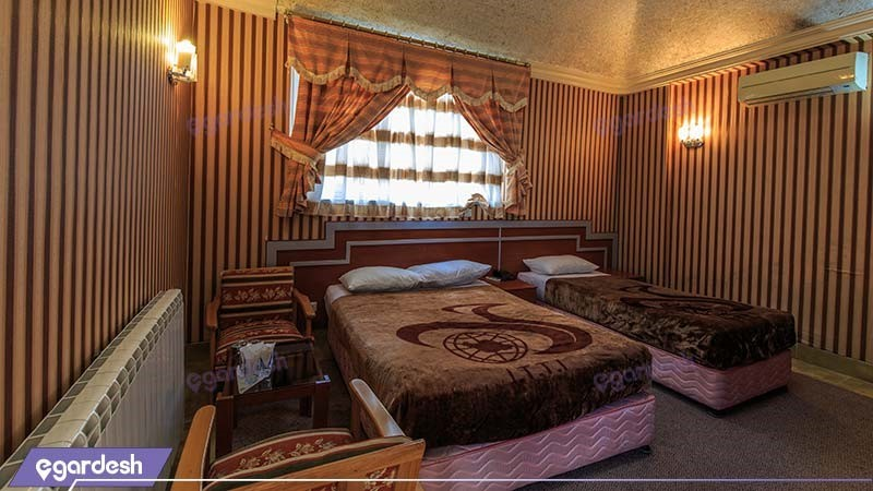 اتاق دبل هتل جهانگردی ناهارخوران