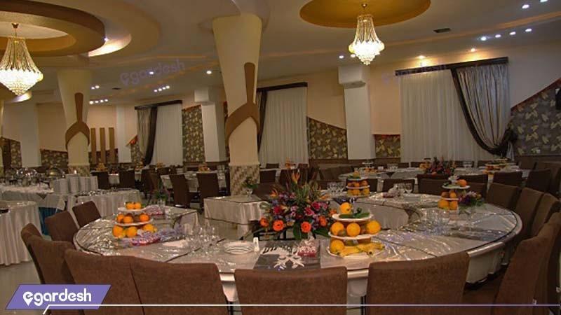 سالن پذیرایی هتل شهاب ناهار خوران