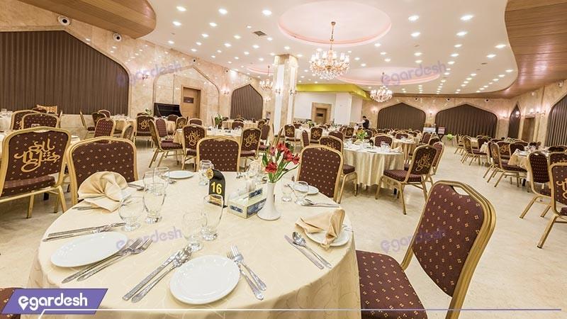 رستوران هتل بین المللی بابا طاهر