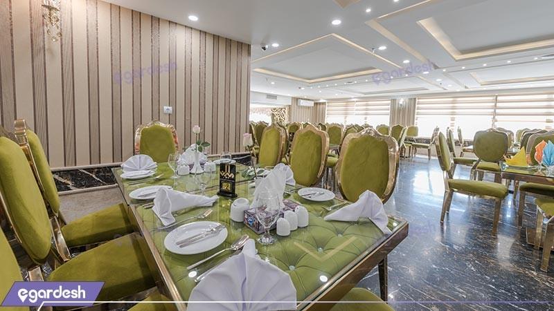 رستوران هتل امیران