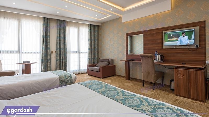 اتاق سه تخته هتل امیران