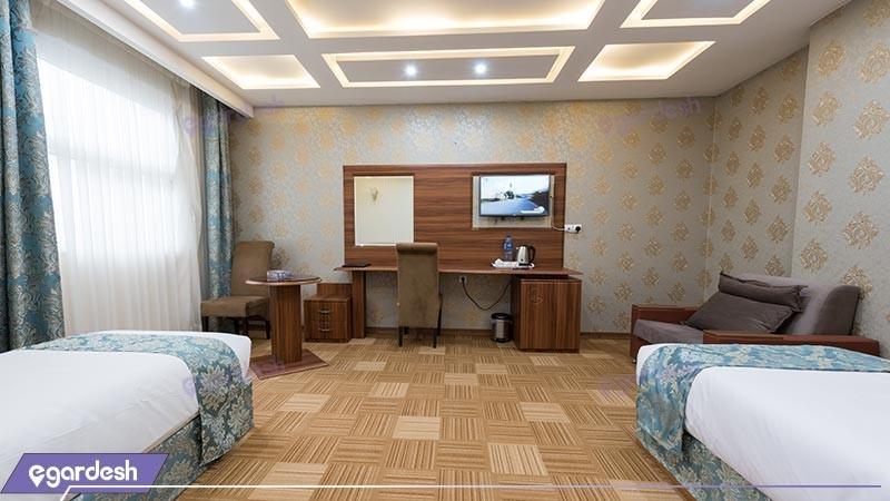 اتاق دو تخته توئین هتل امیران