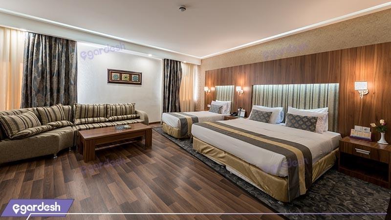 اتاق سه تخته هتل پارسیان
