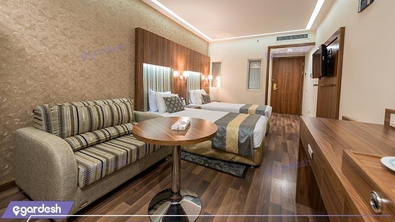 اتاق دو تخته توئین هتل پارسیان