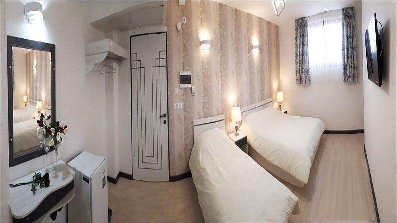 اتاق سه تخته هتل آفتاب