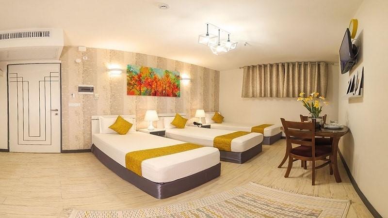 اتاق سه تخته هتل آفتاب 3