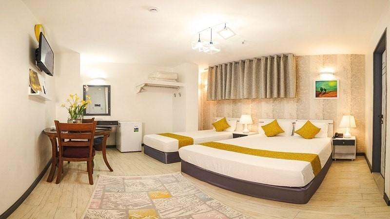 اتاق دو تخته هتل آفتاب 2