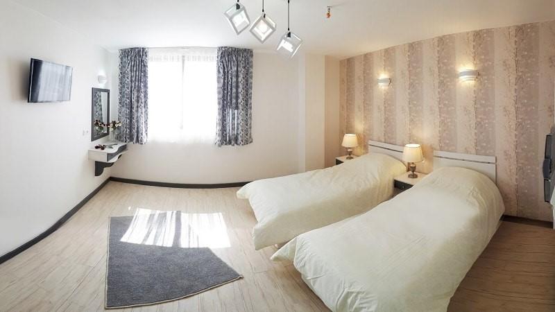 اتاق دو تخته هتل آفتاب