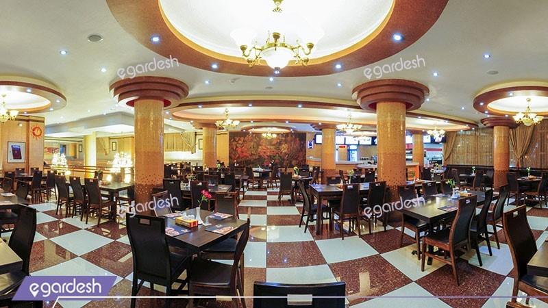 کافی شاپ هتل آسمان