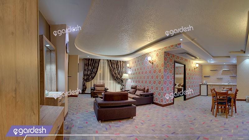 سوئیت معمولی هتل آسمان