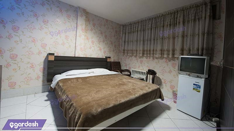 اتاق کانکت دبل هتل جلفا