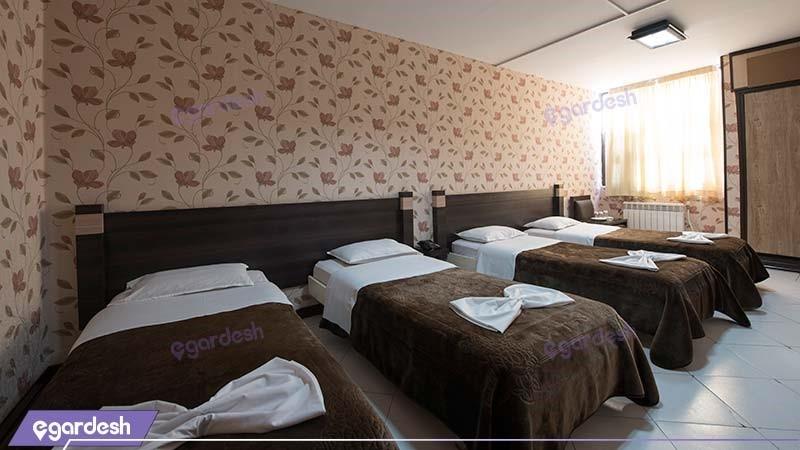 اتاق چهار نفره هتل جلفا